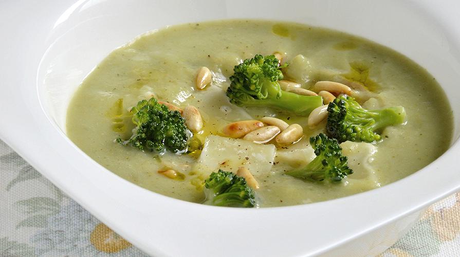 Ricetta di pasta e broccoli alla romana