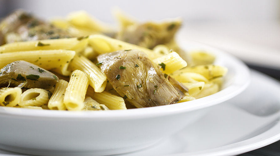 Ricette pasta con carciofi e bottarga