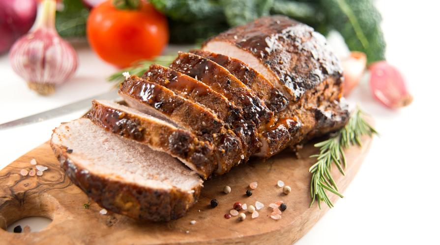 Ricetta filetto di maiale lardellato al forno giornale - Filetto di maiale al porto ...