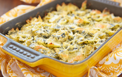 Pasta al forno con Carciofi