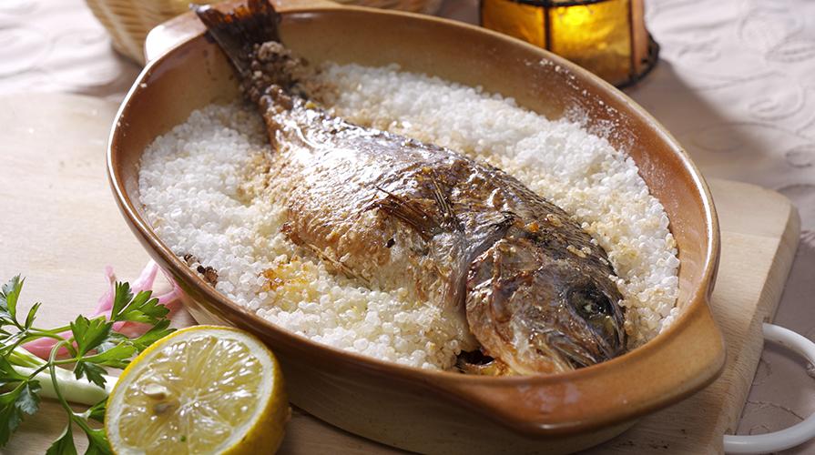 La cottura al sale e a vapore per cucinare il pesce ricette e tecniche - Cucinare al vapore ...