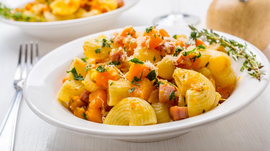 Ricette pasta e zucca al forno