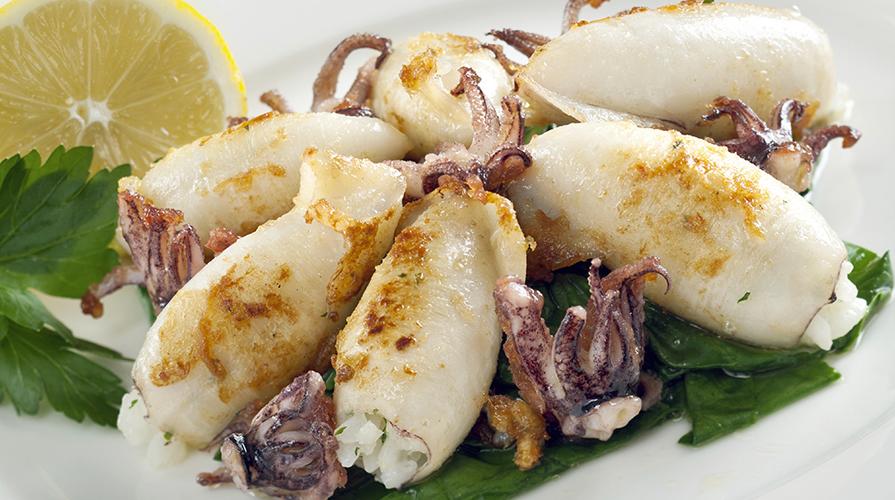 Risultati immagini per Calamari alla siciliana