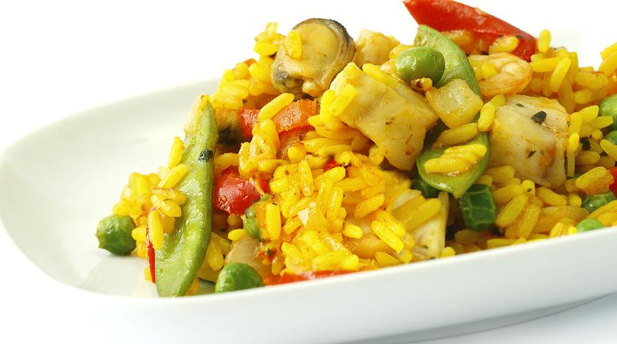 Ricetta paella caraibica giornale del cibo for Ricette cibo