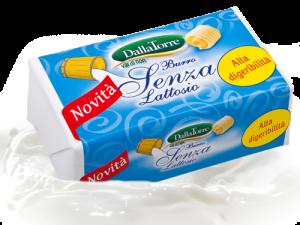 Burro senza lattosio