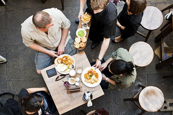 Pausa pranzo ristorante