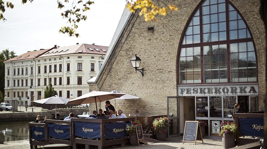 Mercato Feskekörka a Goteborg