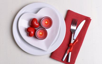 San Valentino menu