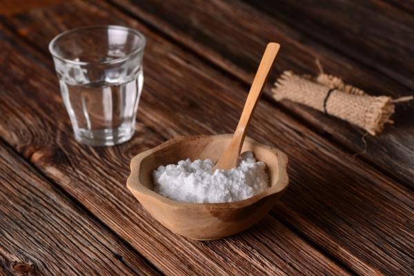 bicarbonato e acqua frizzante
