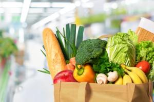 spesa vegetariana