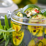 zucchine secche sott'olio