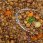 contorno di lenticchie