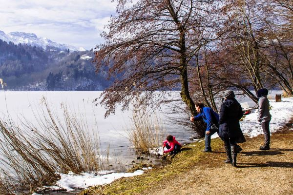 lago levico terme