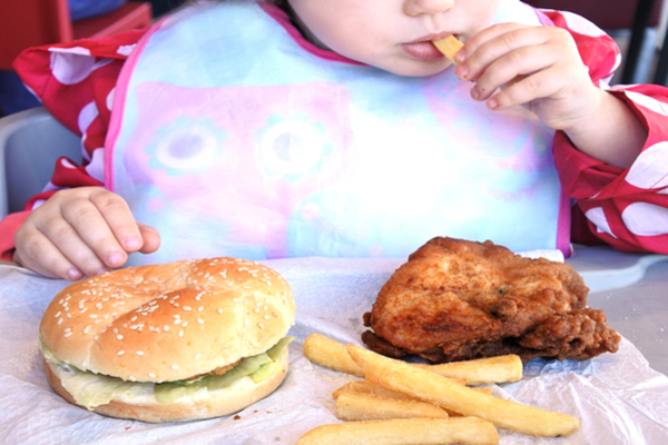obesità bambini