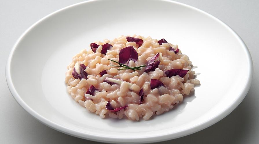 Risotto al radicchio senza lattosio la ricetta for Ricette risotti