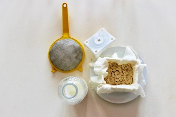 ingredienti tofu fatto in casa
