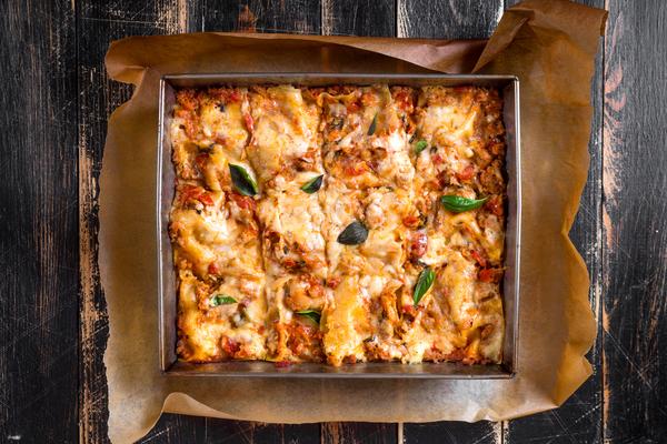 lasagna agnello