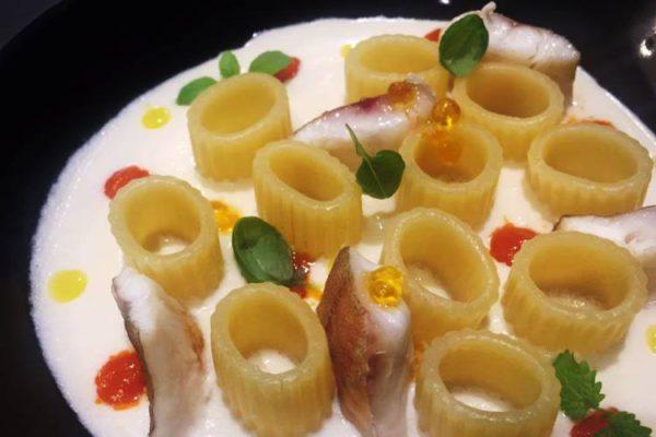 pasta con baccalà