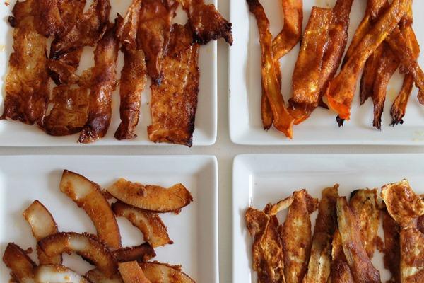 bacon vegano ricetta