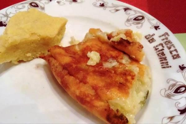 frico con polenta