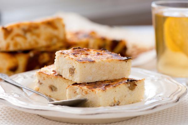 torta ricotta e pane raffermo