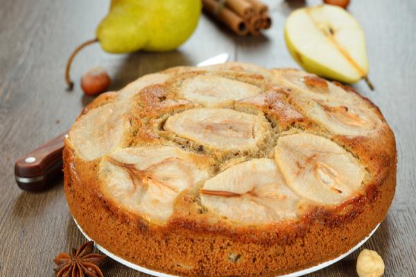 torta pere e cannella