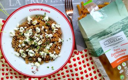 Pasta di Farro lenticchie e quinoa
