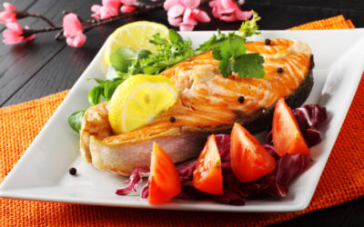 salmone radicchio