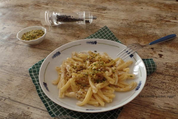 pasta pistacchi formaggio