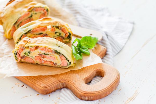 strudel salmone
