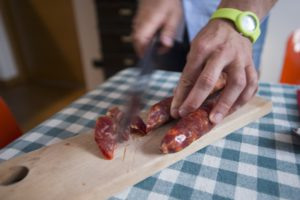 uccisione del maiale in cilento