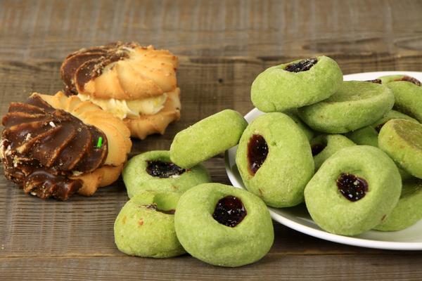 biscotti matcha feijoa