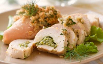 involtini di pollo con salsiccia