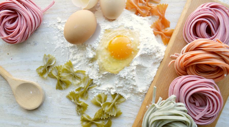 Pasta fresca colorata ecco 3 ricette per 3 piatti for Ricette di cucina particolari